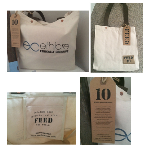 Ethically Creative Gift Bags by FEED Projects