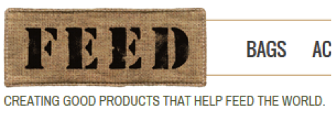 FEED understand the importance of a website tagline. Their tagline is clear and descriptive.